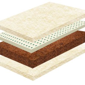 Biomatrac / kókusz-latex matrac